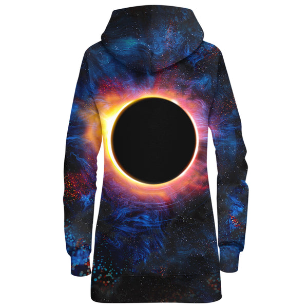 EPIC ECLIPSE HOODIE DRESS