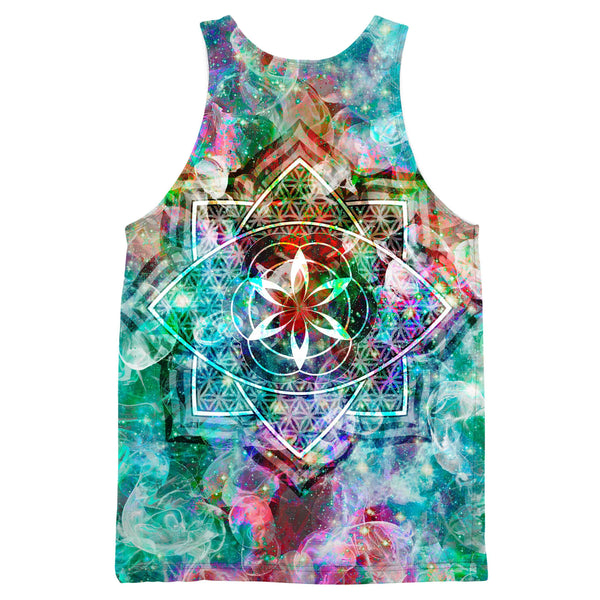 Premium All Over Print Graphic Shirts Set 4 Lyfe Metatronic Tank Top