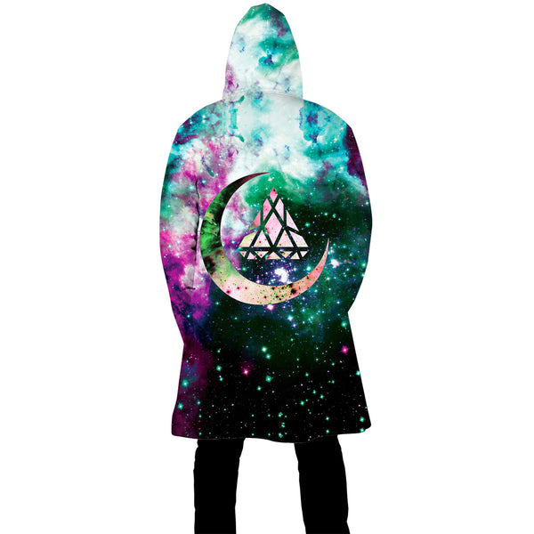 EXOTIC MOON ZIP UP CLOAK