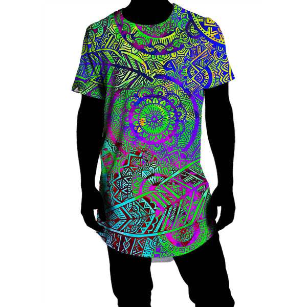 FEATHER MANDALA VIBE DROP TEE