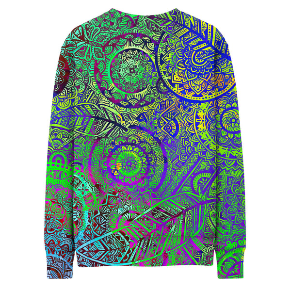 FEATHER MANDALA VIBE SWEATSHIRT