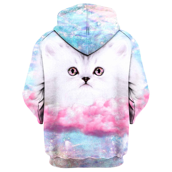 FLUFFY SPACE MUNCHKIN HOODIE