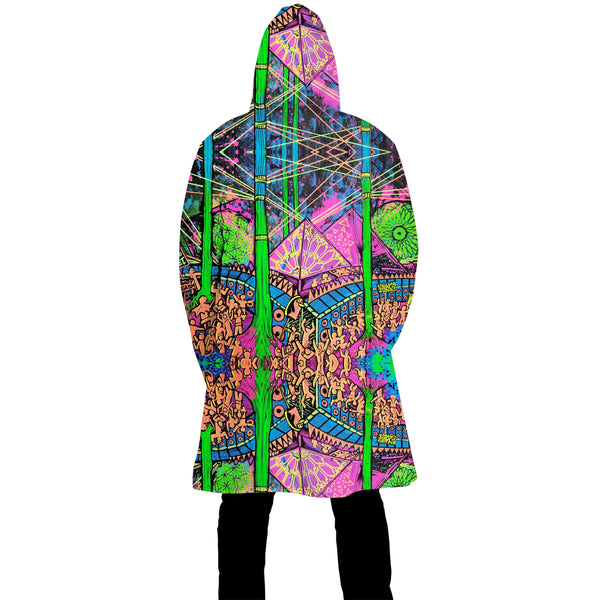 FOREST FRIENDS ZIP UP CLOAK
