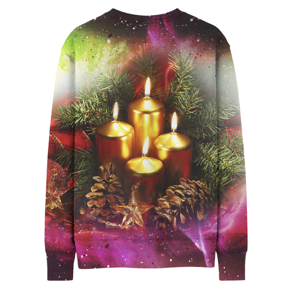 FOUR CANDLE SWEATSHIRT