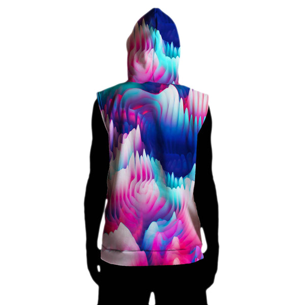 FUTURE BASS SLEEVELESS HOODIE