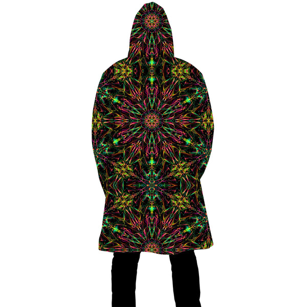 FUTURE MANDALA ZIP UP CLOAK