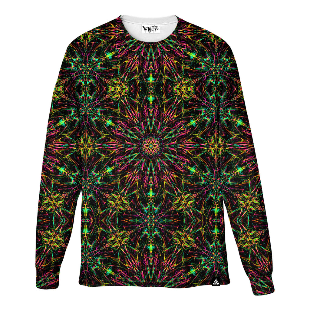 FUTURE MANDALA LONG SLEEVE T