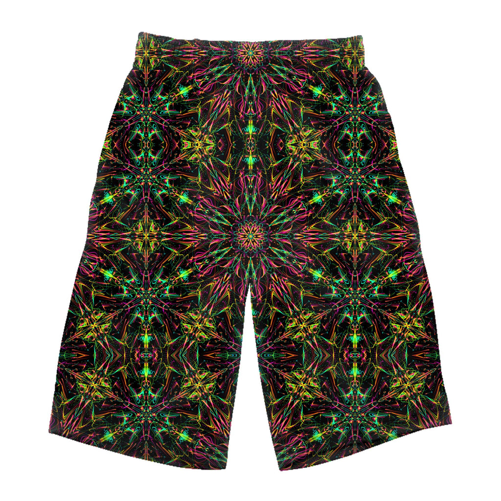 FUTURE MANDALA LONG SHORTS