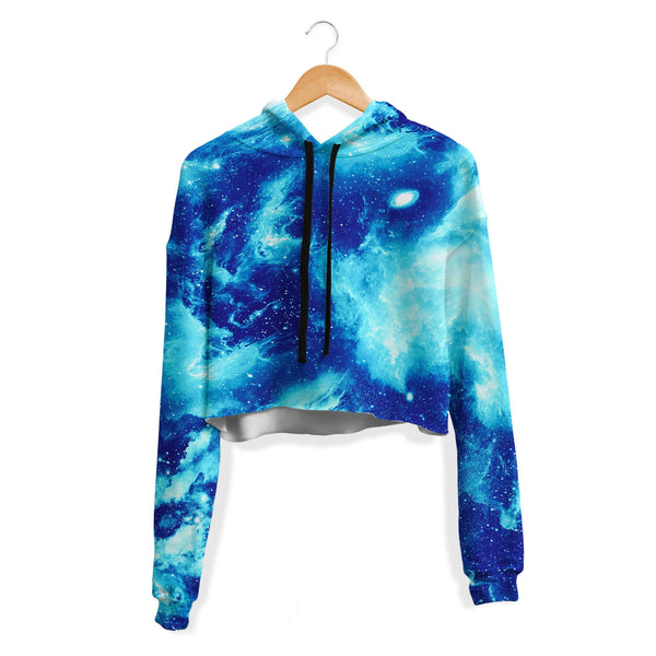 GIVE ME SPACE CROP HOODIE