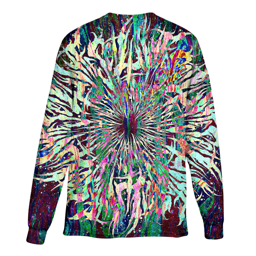 GRIME MANDALA LONG SLEEVE T