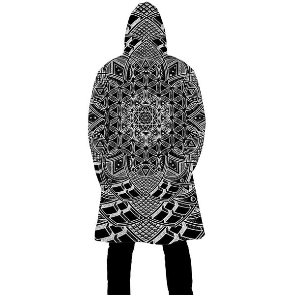 IMAGINATRIX DARK ZIP UP CLOAK