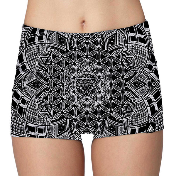 IMAGINATRIX LADIES HIGH-WAIST SHORTS