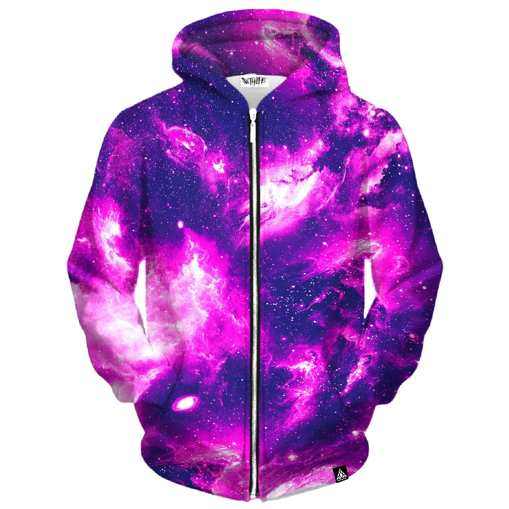 LUSH SPACE ZIP UP HOODIE
