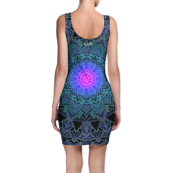 MANDALA LOVE BODYCON DRESS