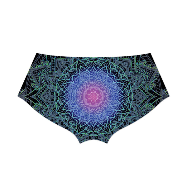 MANDALA LOVE BOOTY SHORTS