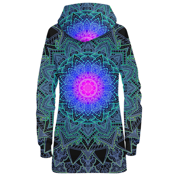 MANDALA LOVE HOODIE DRESS
