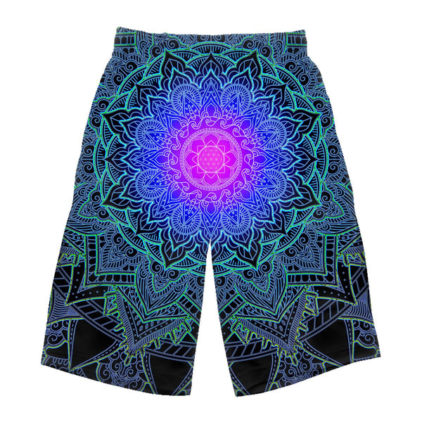 MANDALA LOVE LONG SHORTS