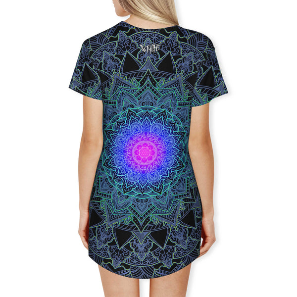 MANDALA LOVE T DRESS