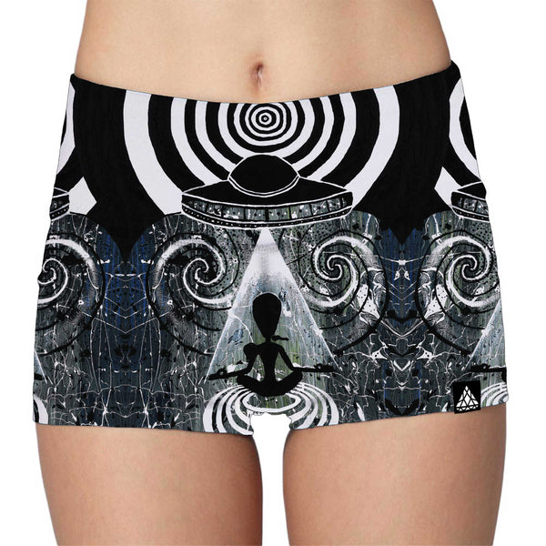 MIND CONTROL HIGH-WAIST SHORTS