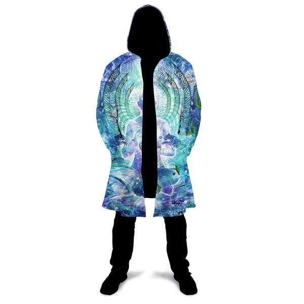 OBSERVERS OF THE SKY ZIP UP CLOAK