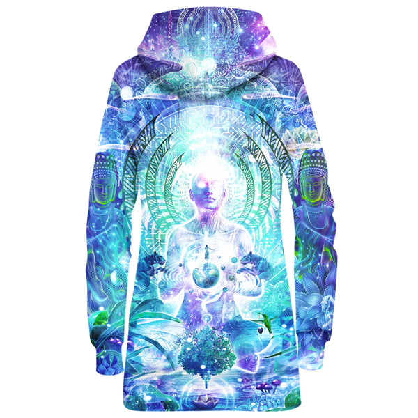 OBSERVERS OF THE SKY HOODIE DRESS