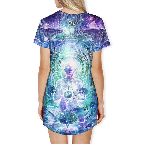 OBSERVERS OF THE SKY T DRESS