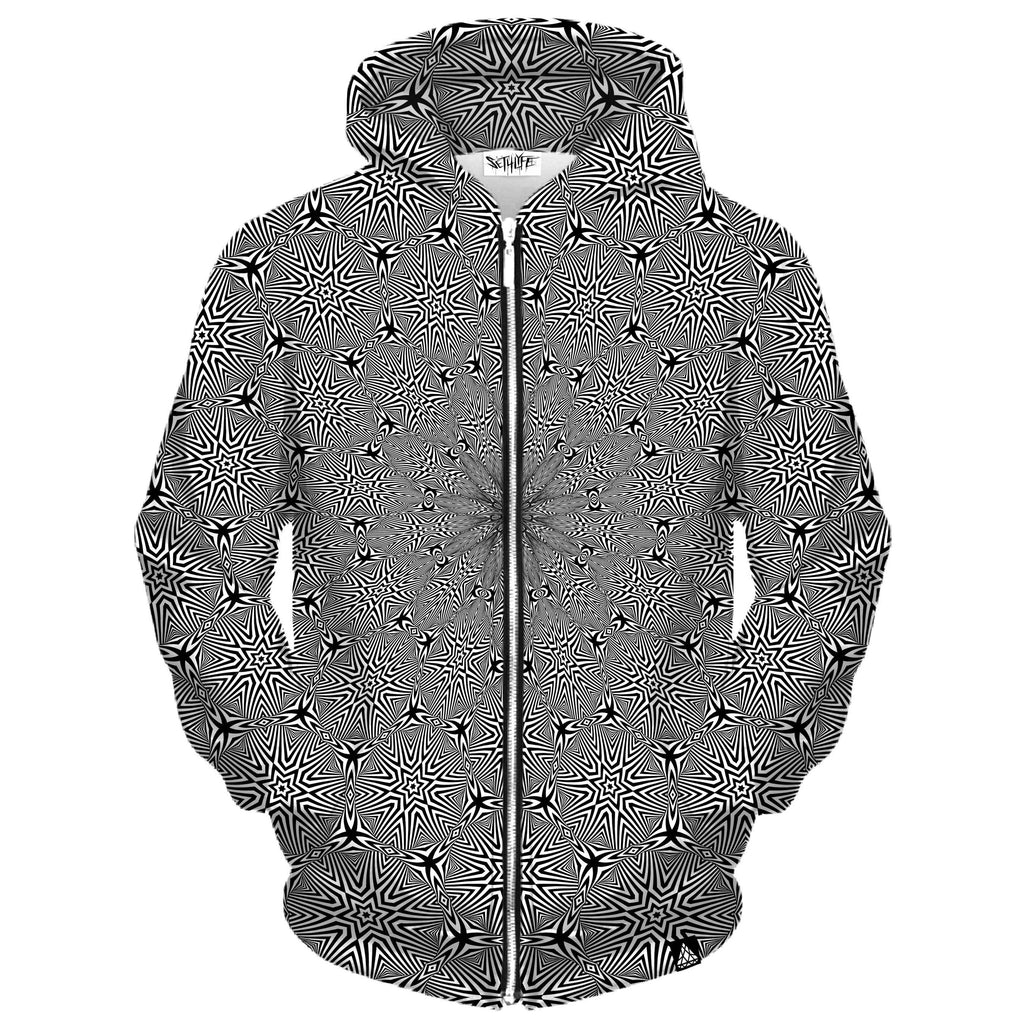 OPTICAL STAR VORTEX ZIP UP HOODIE