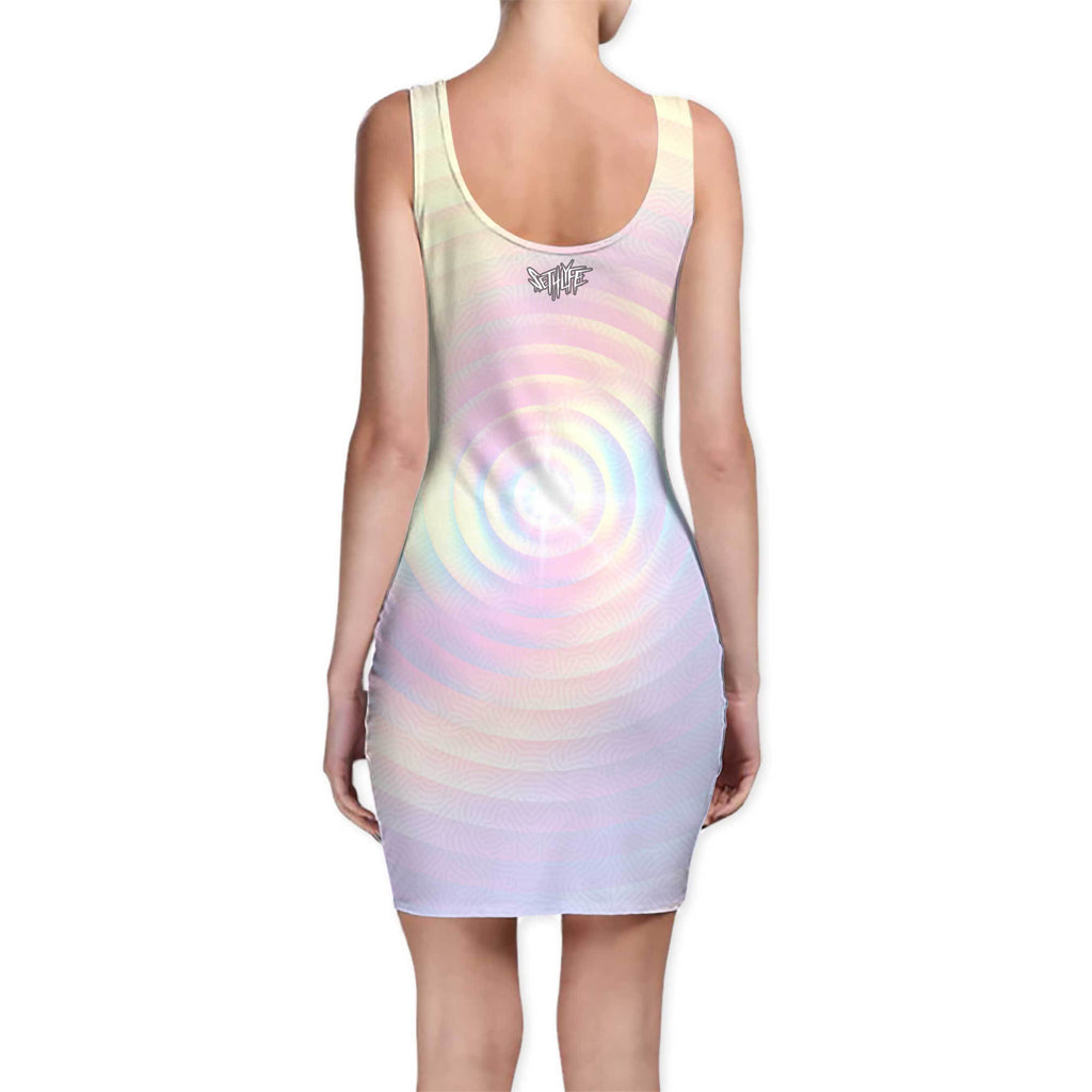 PASTEL FUNDAMENTAL BODYCON DRESS