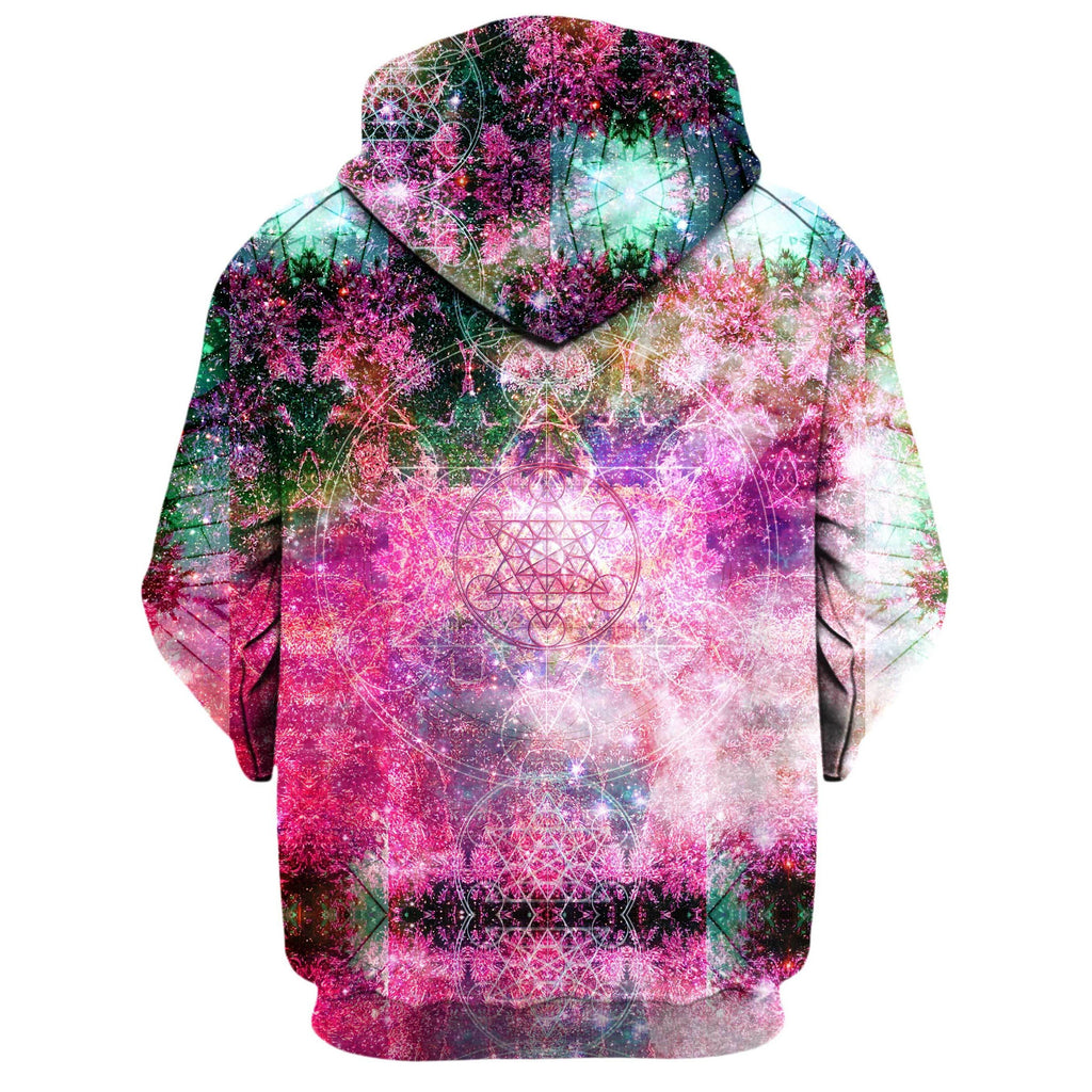 PINEAL METATRON GALAXY ZIP UP HOODIE (Clearance)