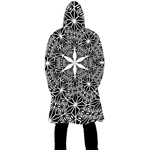 SEED OF ASANOHA ZIP UP CLOAK