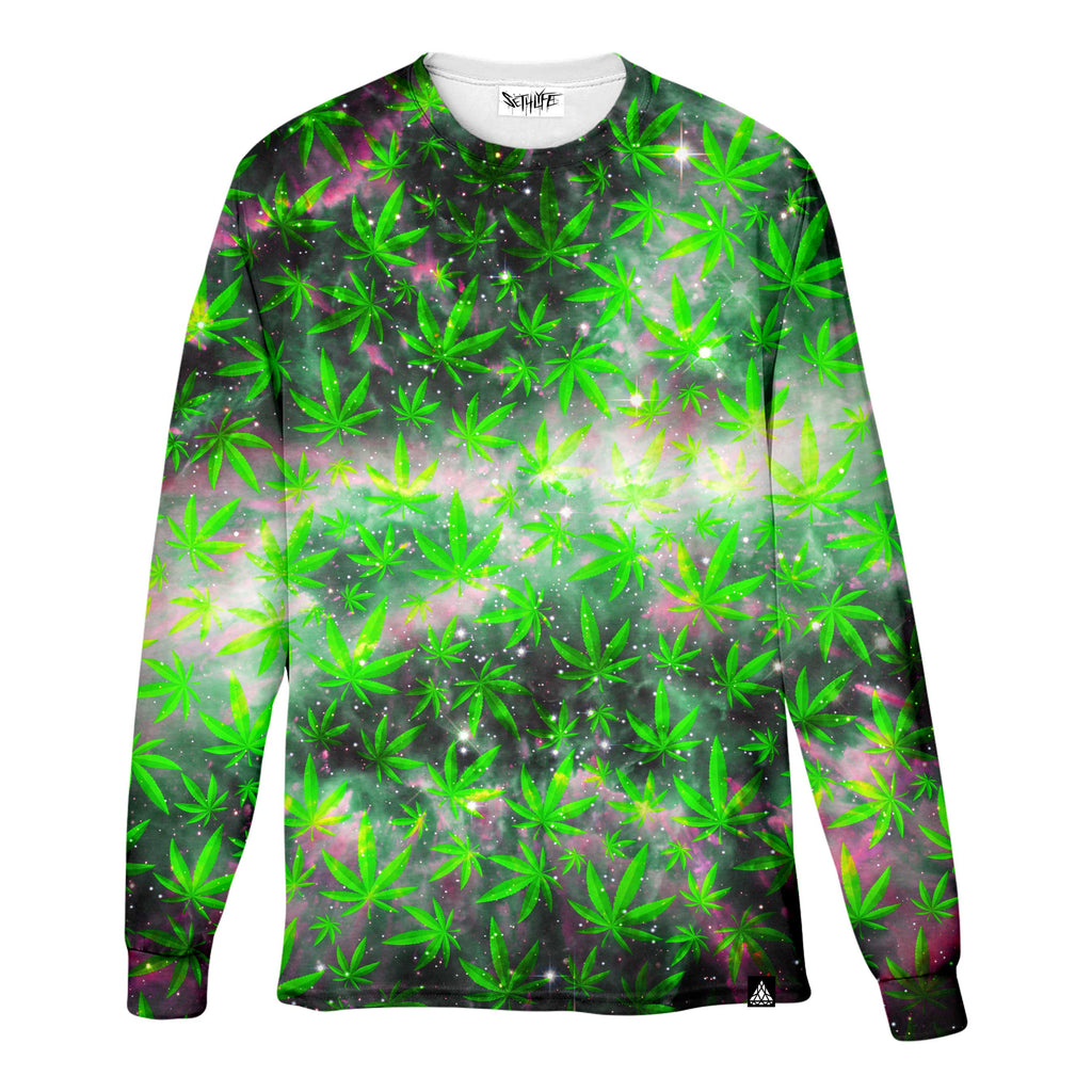 SPACE GANJA LONG SLEEVE T