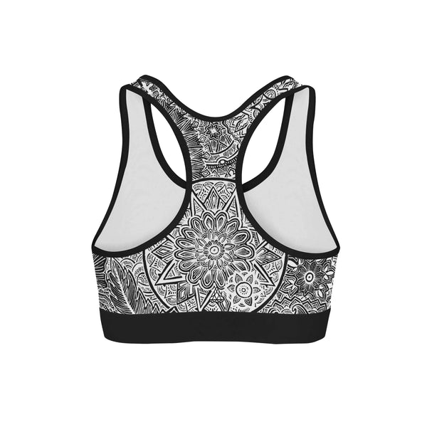 STAR MANDALA SPORTS BRA