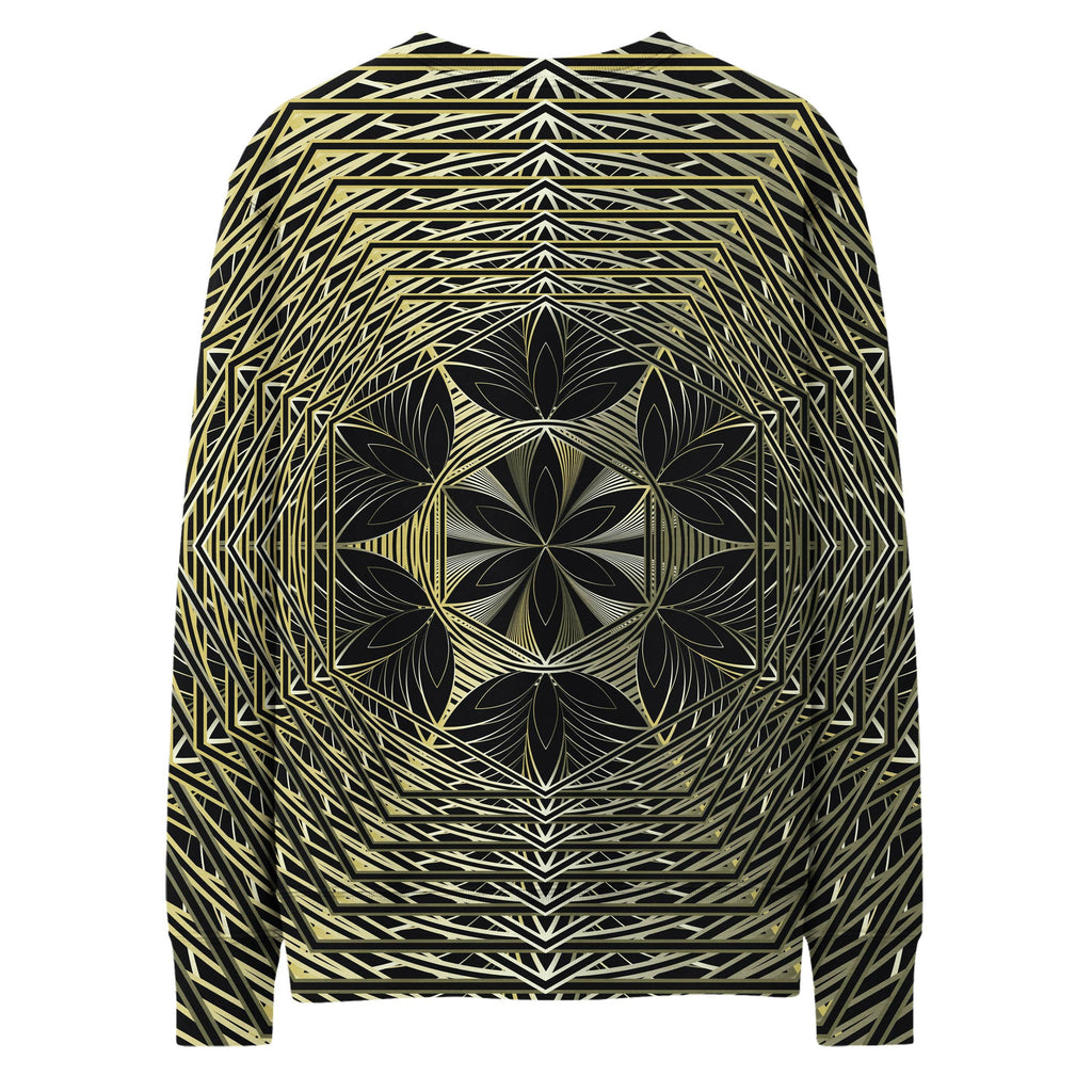GOLDEN FRACTAL SWEATSHIRT