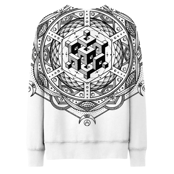 ISOMETRIC REALITY LIGHT SWEATSHIRT