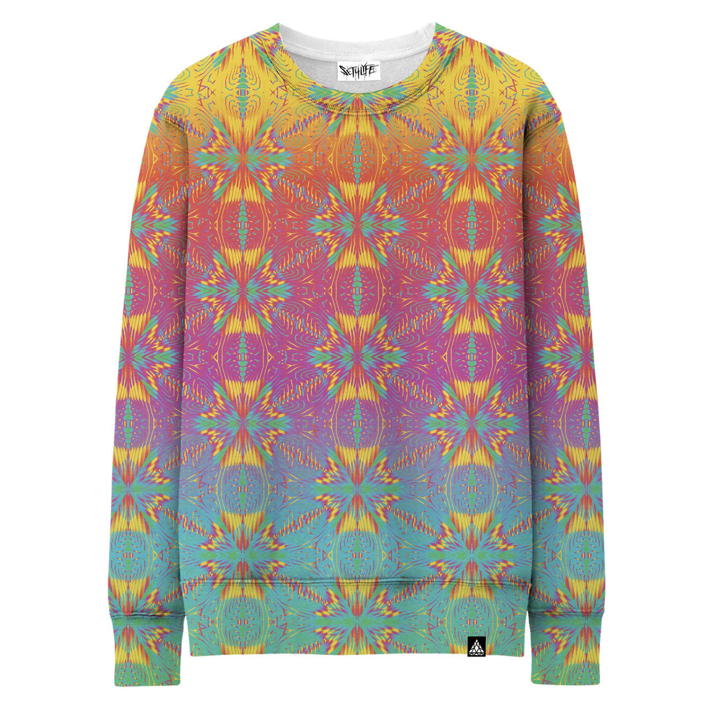 SPECTRUM TRI STAR GRID SWEATSHIRT