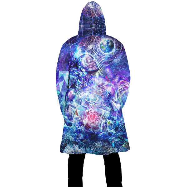 TRANSCENSION ZIP UP CLOAK