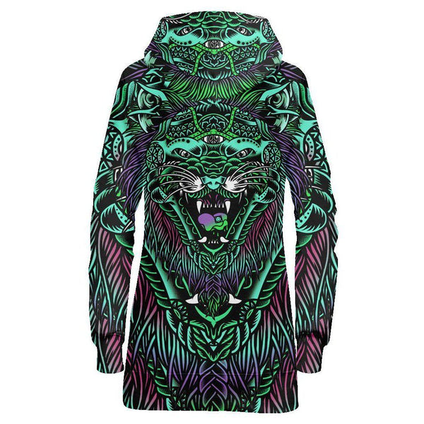 ACID TIGER HOODIE DRESS-Set 4 Lyfe Apparel