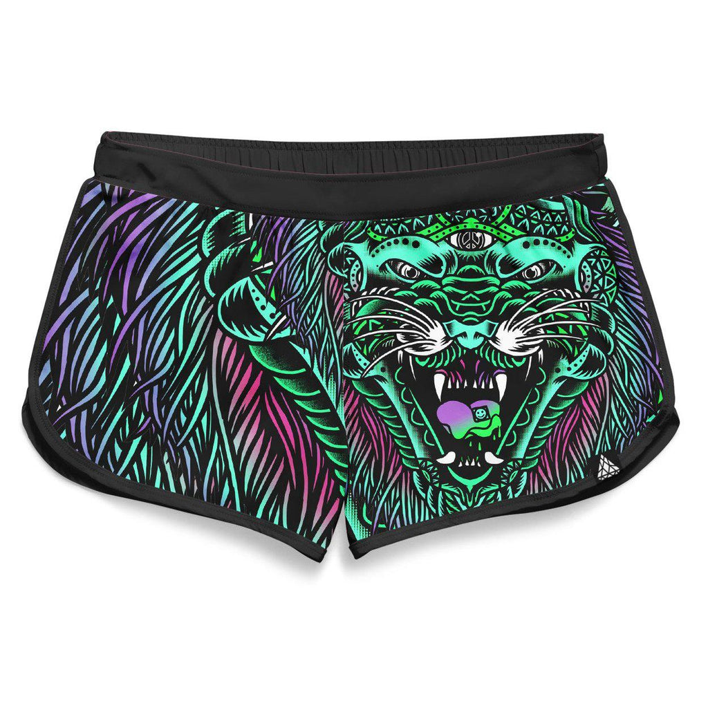 Set 4 Lyfe - ACID TIGER RETRO SHORTS - Clothing Brand - Retro Shorts - SET4LYFE Apparel