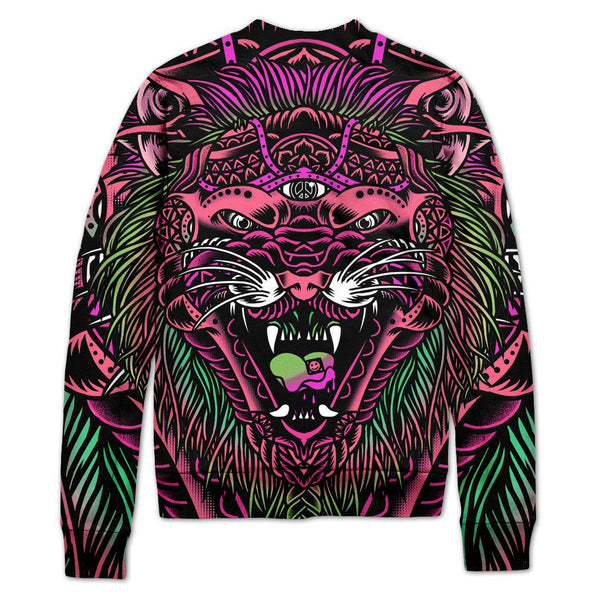 ACID TIGER VARSITY JACKET-Set 4 Lyfe Apparel