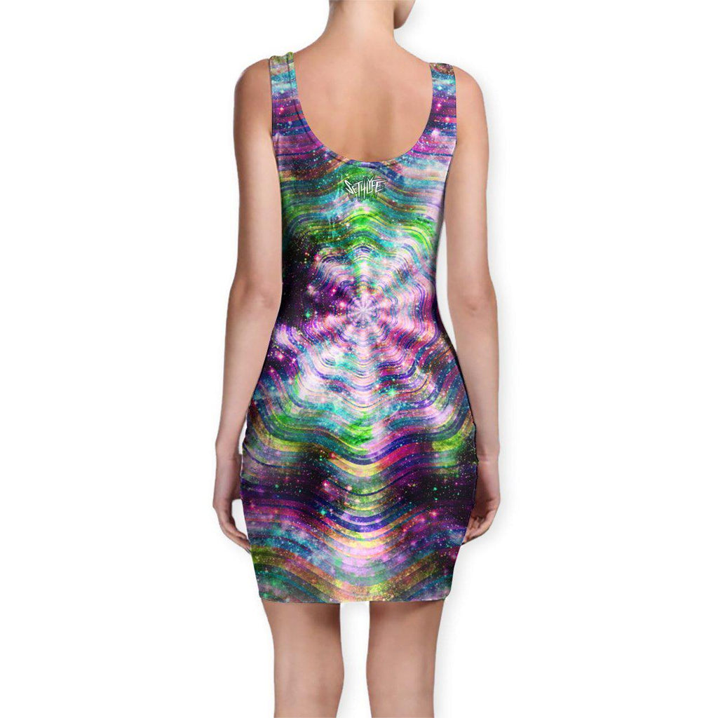Set 4 Lyfe / Mattaio - DOSED BODYCON DRESS - Clothing Brand - Bodycon Dress - SET4LYFE Apparel