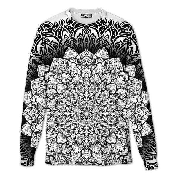 Set 4 Lyfe / Yantrart Design - MANDALA GLOW LONG SLEEVE T - Clothing Brand - Long Sleeve T - SET4LYFE Apparel