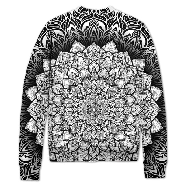 Set 4 Lyfe / Yantrart Design - MANDALA GLOW VARSITY JACKET - Clothing Brand - Varsity Jacket - SET4LYFE Apparel