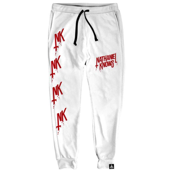 NK ALL DAY WHITE JOGGERS