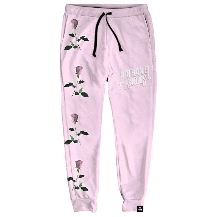 Set 4 Lyfe / Nathaniel Knows - NK ROSE PINK JOGGERS - Clothing Brand - Joggers - SET4LYFE Apparel
