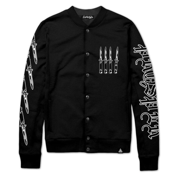 Set 4 Lyfe / Fraser Pattison - STRAY VARSITY JACKET - Clothing Brand - Varsity Jacket - SET4LYFE Apparel
