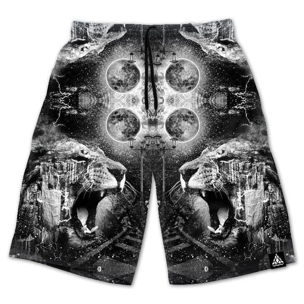 Set 4 Lyfe / Brandon Millward - CONCRETE JUNGLE SHORTS - Clothing Brand - Shorts - SET4LYFE Apparel
