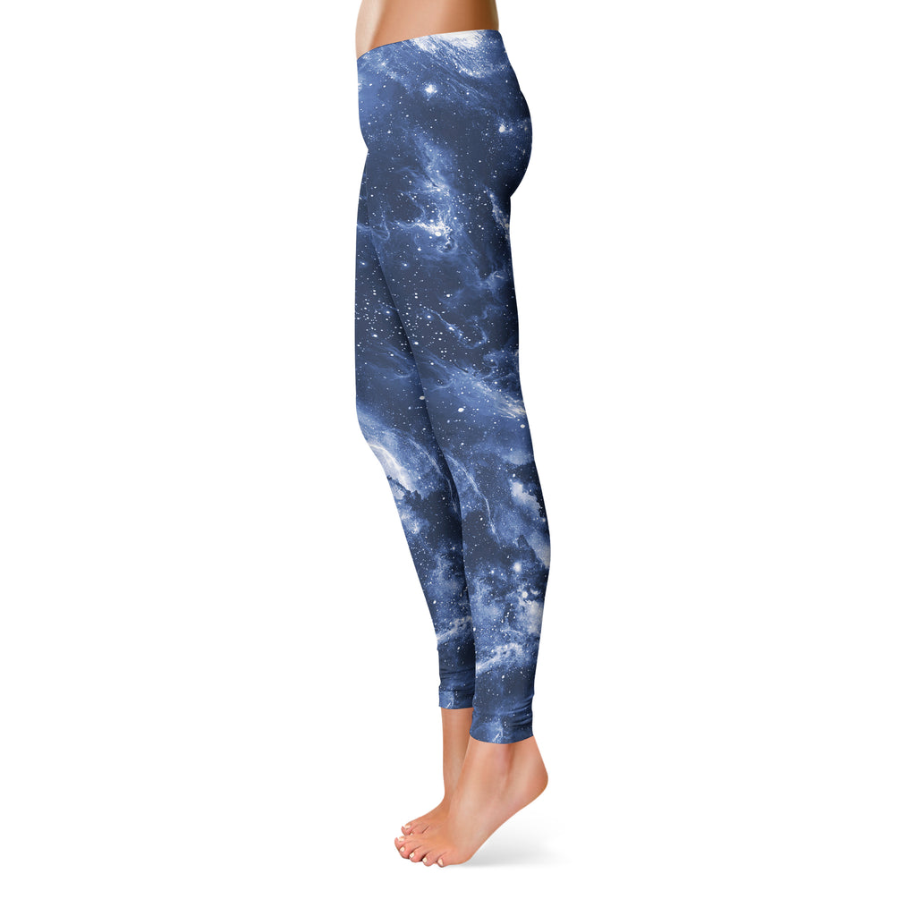 DEEP BLUE SPACE LEGGINGS