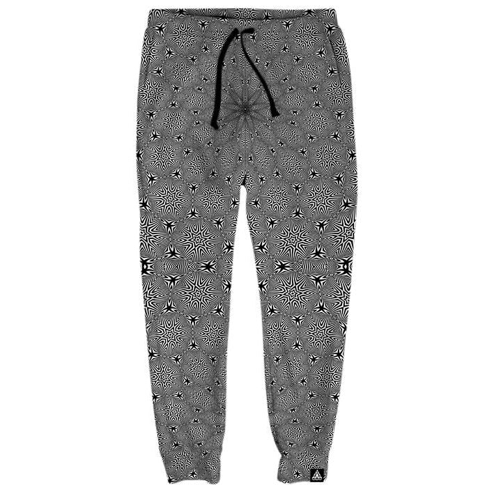 Set 4 Lyfe / Rooz Kashani - OPTICAL STAR VORTEX JOGGERS - Clothing Brand - Joggers - SET4LYFE Apparel