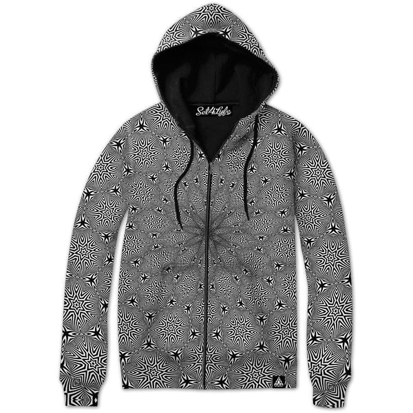 OPTICAL STAR VORTEX ZIP UP HOODIE (Clearance)