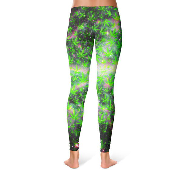 SPACE GANJA LEGGINGS